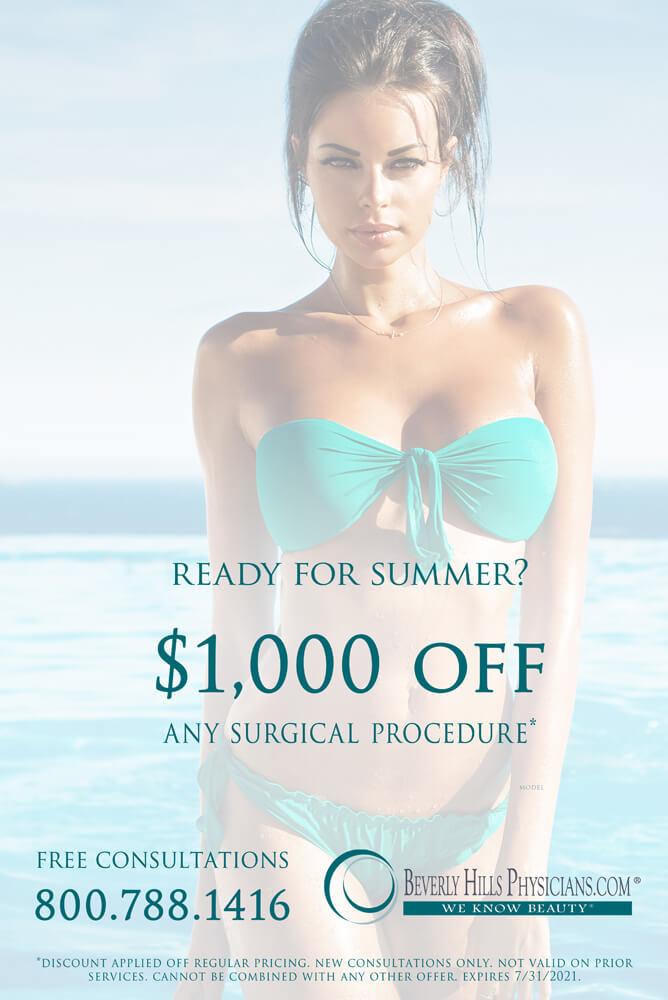 Plastic Surgery Summer Promotion