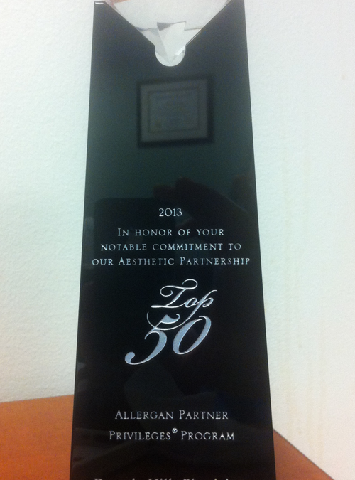 Allergan Award